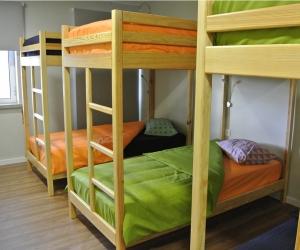 Cama em Beliche - Quarto de 4 ou 6 camas